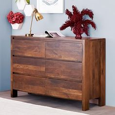 Shop drawers from west elm. Find a wide selection of furniture and decor options that will suit your tastes, including a variety of drawers. Walnut Dresser, 6 Drawer Dresser, Dresser As Nightstand, Drawers, Nightstands, Bedroom Chest, Bedroom Dressers, Bedroom Furniture, Home Furniture