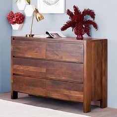 Boerum 6-Drawer Dresser - Caf