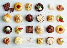 Magisk mingelmat för alla tillfällen Banana Pancakes, Mini Desserts, Party Snacks, Food Design, Tapas, Afternoon Tea, Finger Foods, Good Food, Appetizers