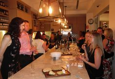The Gourmet Belle Wine Circle Launch at Spring in Brisbane - 9 May 2012