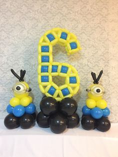 Ballon Animals, Balloon Birthday, Balloon Ideas, Number Balloons, Birthday Candles, Numbers, Letters, Cake, Desserts