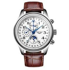 Watches Men Luxury Brand GUANQIN Automatic Mechanical Watch Waterproof