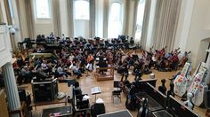 #LondonPhilharmonic #LPOrchestra We're busy in rehearsals for Saturday's #Shakespeare400 anniversary