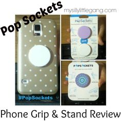PopSockets Review #PopSockets - My Silly Little Gang