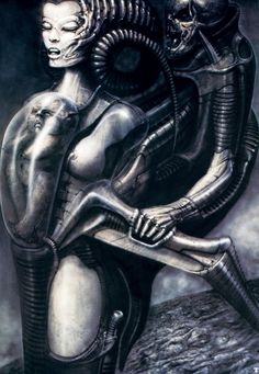 Dark Art: Hans Rudi Giger gallery № 27 Hr Giger Art, Hr Giger Alien, Chur, Psy Art, Futuristic Art, Alien Art, Science Fiction Art, Sci Fi Art, Erotic Art