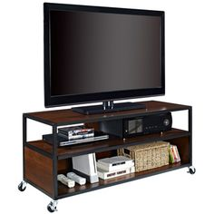 Mason Ridge Mobile TV Stand   Overstock.com Shopping - Great Deals on Altra Entertainment Centers