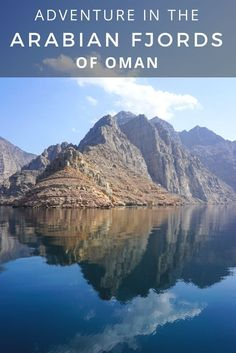 Oman's Musandam Peninsula Fjords is a great weekend trip from Dubai. Dolphins seen from a dhow boat, camp on the beach, kayak, and hiking. Oman Travel, Asia Travel, Travel Couple, Family Travel, Places To Travel, Travel Destinations, Middle East Destinations, Naher Osten, Vash