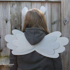 easy diy wings and ears foam headband