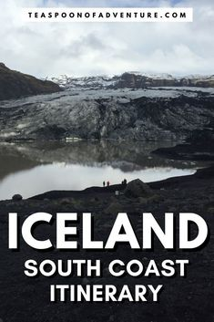 Your road trip itinerary for driving the south coast of Iceland. Check out waterfalls, glaciers, black sand beaches and more - including the best fish and chips! #iceland #itinerary #roadtrip #glacier #waterfall #travel #traveltips #europe #traveleurope #traveliceland