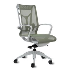 Cydia High Back Task Chair Business Furniture, Office Furniture, Office Chairs, Commercial Interior Design, Modern Interior, Chair Design, Furniture Design, Work Chair, Office Space Design