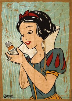 Snow White and her Xanax by Francesco Salerno