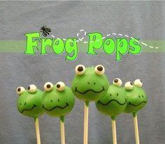 Frog Cake Pops