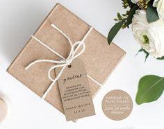 Etiquetas de Boda para Imprimir Infinity. Etiquetas imprimibles para detalles de boda. Etiquetas para los regalos de los invitados. PDF descarga instántanea