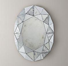 Jewel Mirror  by Restoration Hardware by amelia