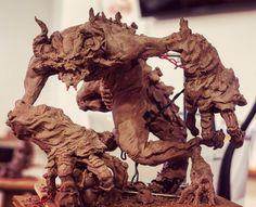 Sculpture by Cyril Roquelaine