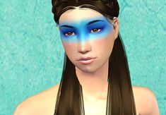 lunacress | The Wicked + The Divine - Various Makeups Sims 2 Makeup, The Wicked The Divine, Openness, Facial Hair, Cas, Overlays, Supernatural, Halloween Face Makeup, How To Make