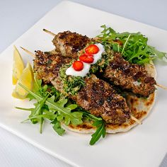 Seekh Kebab & Hari Chutney- use chicken mince if you don't care for lamb