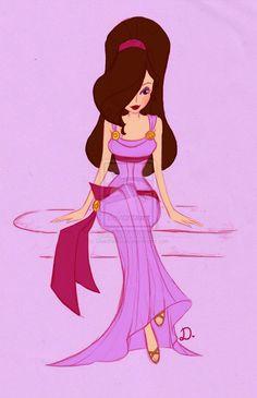 The Art of Disney Big Hair Princess Megara Disney, Disney Pixar, Pocahontas, Old Disney, Disney Fan Art, Disney Girls, Disney Animation, Disney And Dreamworks, Disney Cartoons