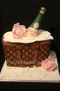 Louis Vuitton Cake Somebody Get Me This For My 23rd Birthday