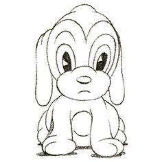 DrawingsofCartoonAnimals Draw Cartoon Puppy Very cute