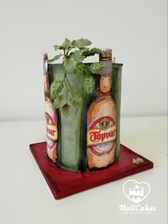 beer cake - cake by MOLI Cakes