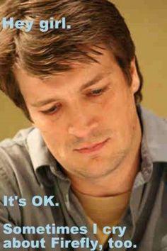 I miss Firefly. more Nathan Fillion Hey-Girl memes, please. Richard Castle, Nathan Fillion, Benedict Cumberbatch, Netflix, Angeles, Firefly Serenity, Nerd Love, Star Wars, Cinema