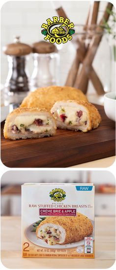 The original stuffed chicken breast by Barber Foods.