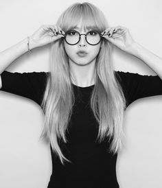 Moonbyul (문별) of MAMAMOO (마마무)   She's just too attractive and cool, I have a little girl crush on her (even she is my sister's bias).