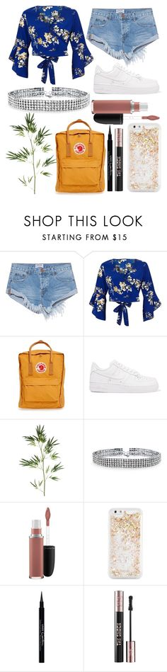"""Untitled #60"" by sofi-the-first1912 on Polyvore featuring OneTeaspoon, River Island, Fjällräven, NIKE, Pier 1 Imports, Bling Jewelry, MAC Cosmetics, ban.do, Givenchy and Yves Saint Laurent"