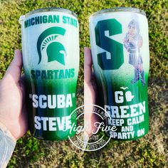 We are currently making custom tumblers and decals but have. Michigan Spartans, Custom Tumblers, Birthday Gifts, Christmas Gifts, Board, Birthday Presents, Xmas Gifts, Christmas Presents, Xmas Presents