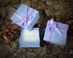 5 Stück Geschenkbox Schachtel blau 4x4x3cm von SackundPack auf Etsy, €2.50
