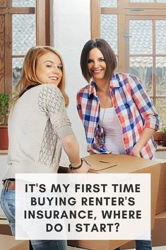It's my first time buying renter's insurance, where do I start? Renters Insurance, Home Insurance, Learning Centers, Personal Finance, First Time, Tips, Women, Counseling, Woman
