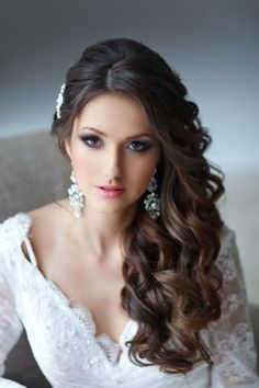 side swept curls - Google Search