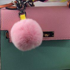 plush ball bags charms