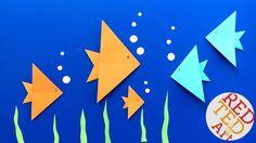 Easy Origami Fish DI