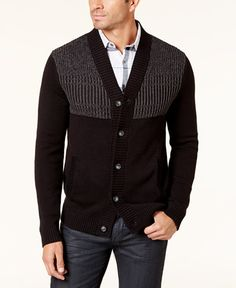 Alfani Men's Button-Up Cardigan, Created for Macy's