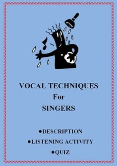 MUSIC: Vocal devices - Explanation, Listening Activity and Quiz