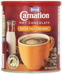 Carnation Hot Chocolate Rich, 500g Canister Nestlé https://www.amazon.ca/dp/B003M5OULU/ref=cm_sw_r_pi_dp_x_jWQdyb4VAS7PP
