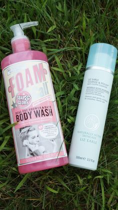 Soapy & Glory's Foam Call Body Wash and Liz Earle's Hot Cloth Cleanser: Amazing products! Details on the blog | www.sookiespartan.com