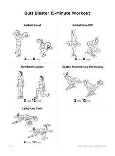 15 minutos de trabajo muscular de gluteos y muslos | WorkoutLabs