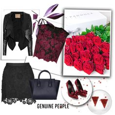 Untitled #32 by azraa-tursunovic on Polyvore featuring polyvore, fashion, style, Ted Baker, Philippa Craddock, Jérôme Dreyfuss, clothing and Genuine_People