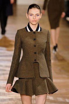 Tweed Suit Stella McCartney Fall 2012