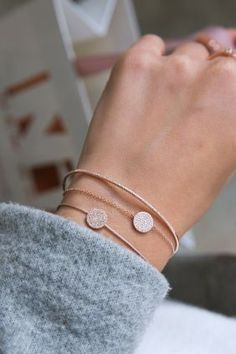 Feed your soul with rose gold and diamonds #bracelets #diamonds #rosegold #elegance WWW.NEWONE-SHOP.COM