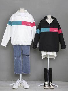 마리쉬♥패션 트렌드북! Edgy Outfits, Korean Outfits, Pretty Outfits, Asian Fashion, Look Fashion, Fashion Design, Korean Fashionista, Doll Style, Mode Mantel