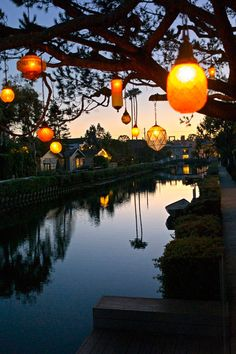 "plasmatics-life: "" Venice Beach Canals - {by Jonathan Alcorn} | {WEBSITE} """