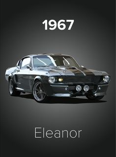 amazing cars Who else shed a tear when the wing mirror was knocked off in Gone in 60 Seconds? The will always be my all time favourite car. If I were to ever stump up the money to b Ford Mustang 1967, Ford Mustang Shelby Gt500, Ford Mustangs, Shelby Gt500 1967, Ford Mustang Eleanor, 2015 Mustang, Mustang Cars, Ford Gt, Shelby Eleanor