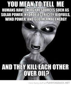 Aliens Renewable Energy Meme