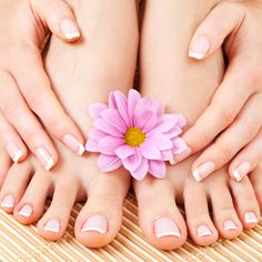 Professional pedicure at home