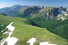 Trail Ridge Road, Rocky Mountain National Park, Colorado  (Inspiration for Stephen King's The Shinning)