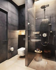 9 latest bathroom decor ideas that match with your home design 3 Bathroom Design Luxury, Bathroom Layout, Modern Bathroom Design, Small Bathroom, Master Bathrooms, Bathroom Ideas, Brick Bathroom, Bathroom Tubs, Tile Layout